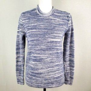 Abercrombie & Fitch Blue Knit Long Sleeve Sweater